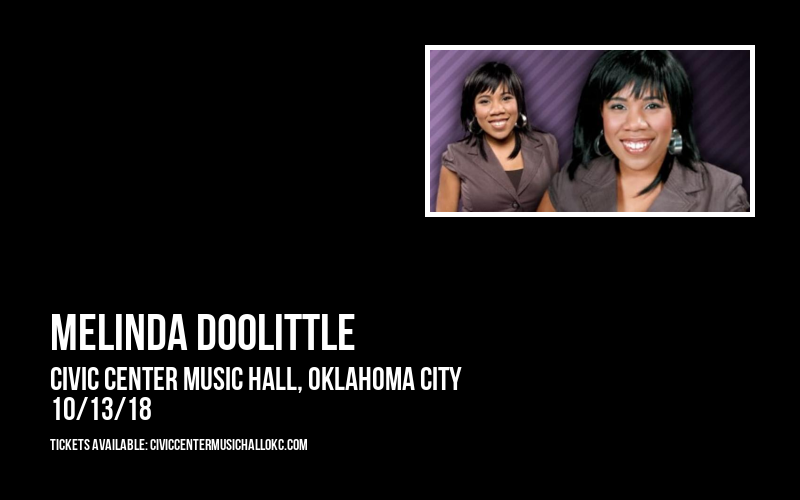 Melinda Doolittle at Civic Center Music Hall