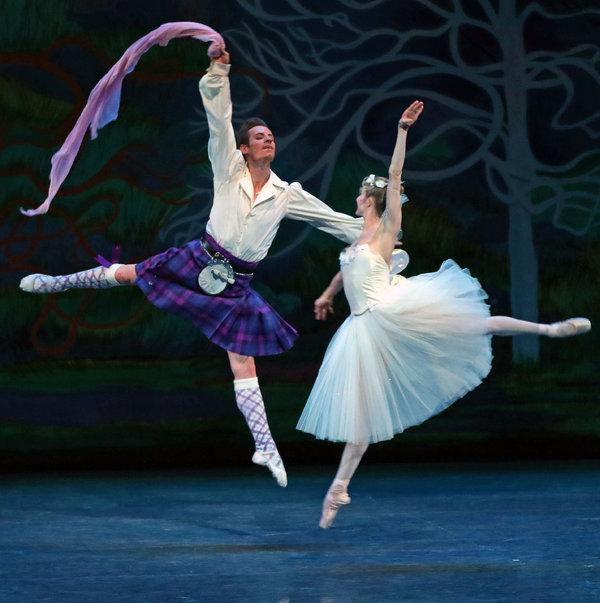 Oklahoma City Ballet: La Sylphide at Civic Center Music Hall