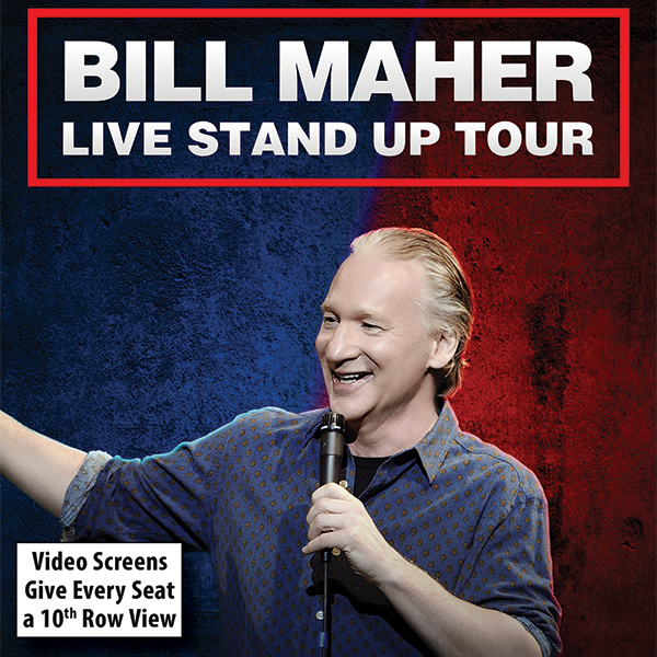 Bill Maher at Civic Center Music Hall