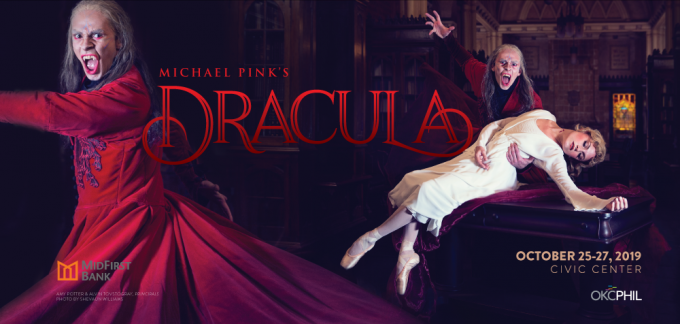 Oklahoma City Ballet: Michael Pink's Dracula at Civic Center Music Hall