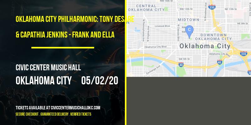 Oklahoma City Philharmonic: Tony DeSare & Capathia Jenkins - Frank and Ella at Civic Center Music Hall