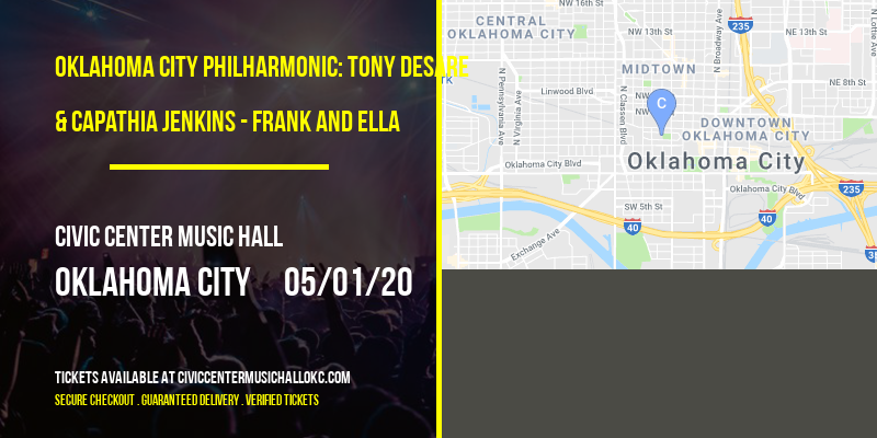 Oklahoma City Philharmonic: Tony DeSare & Capathia Jenkins - Frank and Ella at Civic Center Music Hall